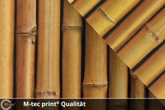 M-tec print Qualität