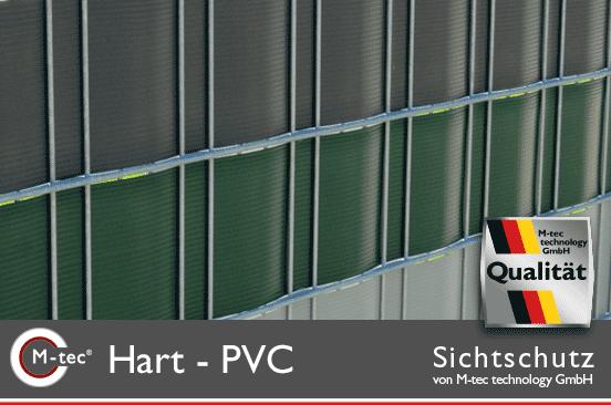 Hart PVC Sichtschutz zum Einflechten