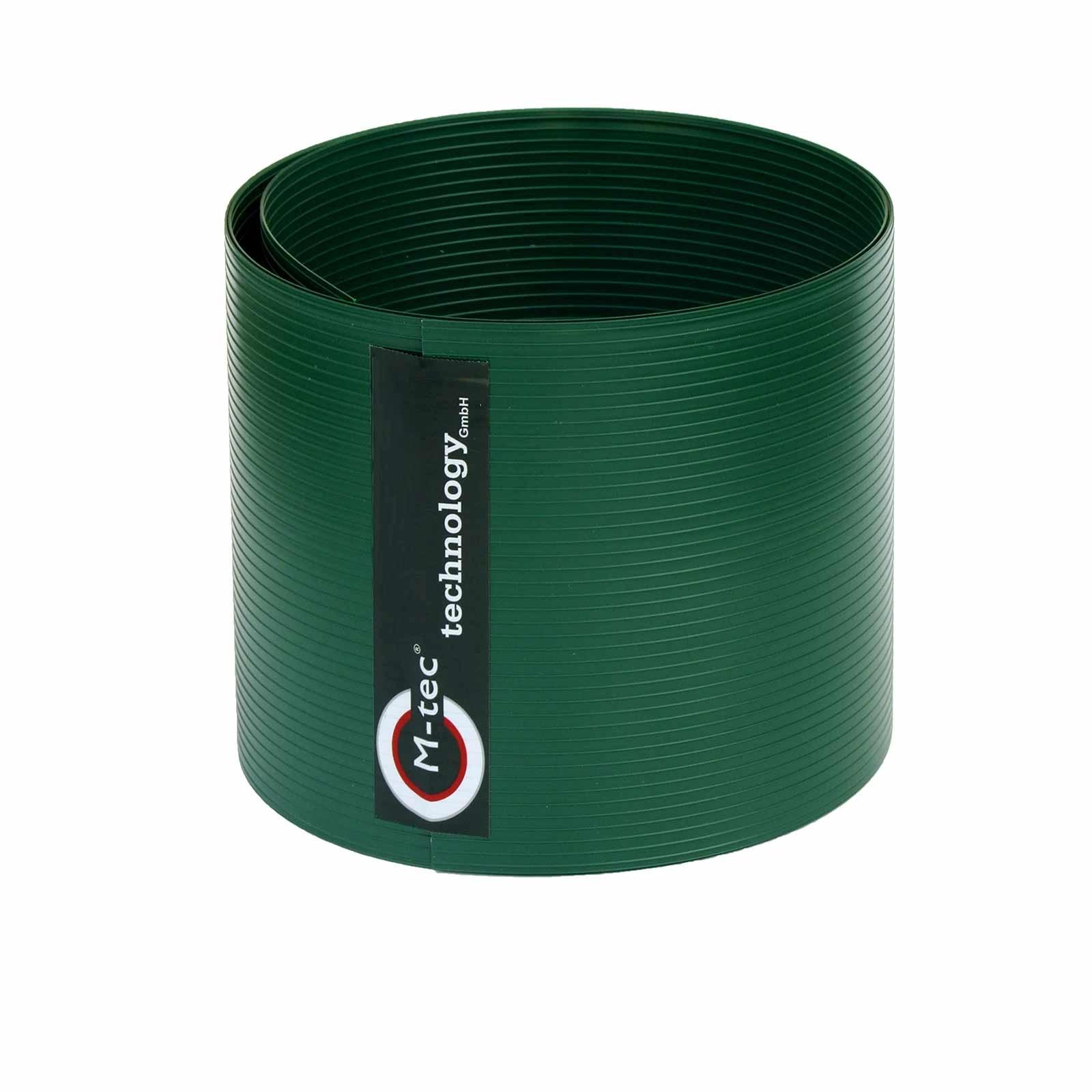M-tec Pro-secure Hart PVC Sichtschutzstreifen - moosgrün