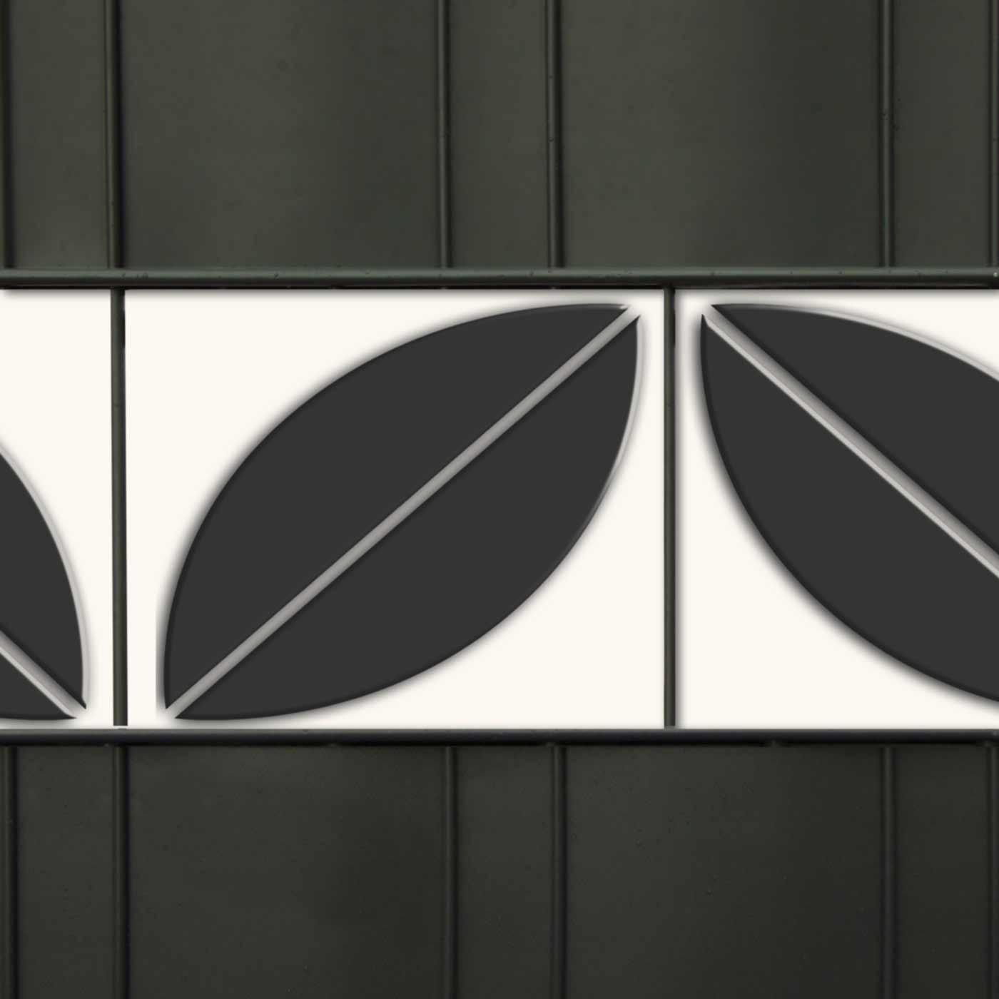 Design Druck Sichtschutzstreifen - M-tec  Blatt