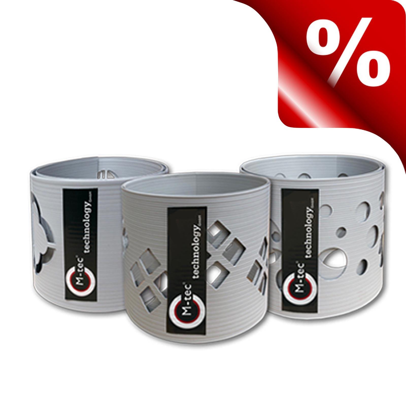 Hart-PVC Dekor Zaunstreifen B-Ware
