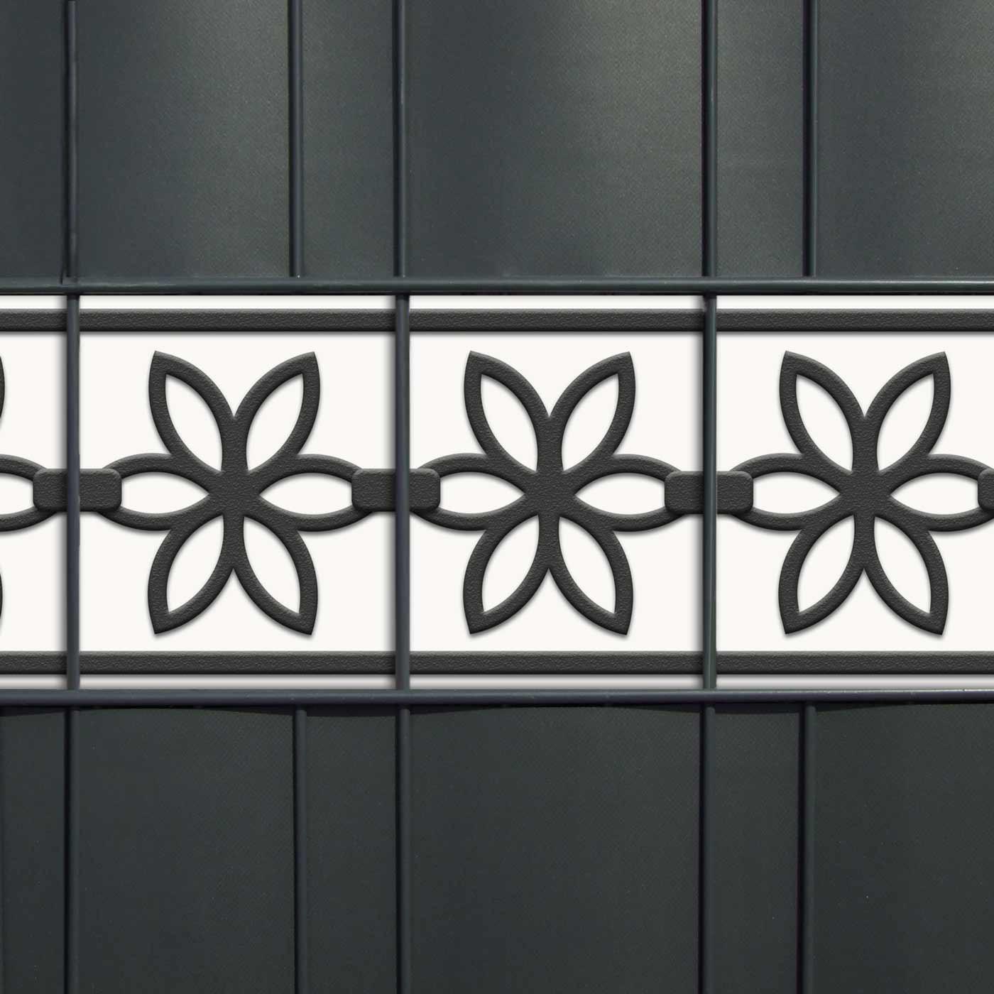 PVC Zierstreifen mit Motiv Flora