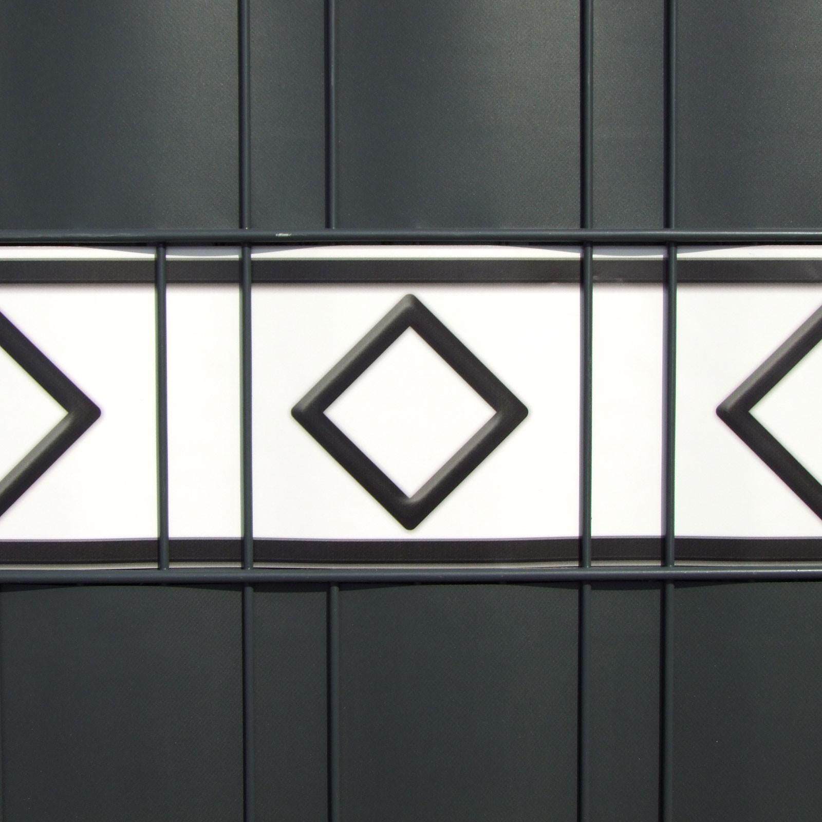 PVC Dekorblenden mit Motiv - Hamburg | Streifen