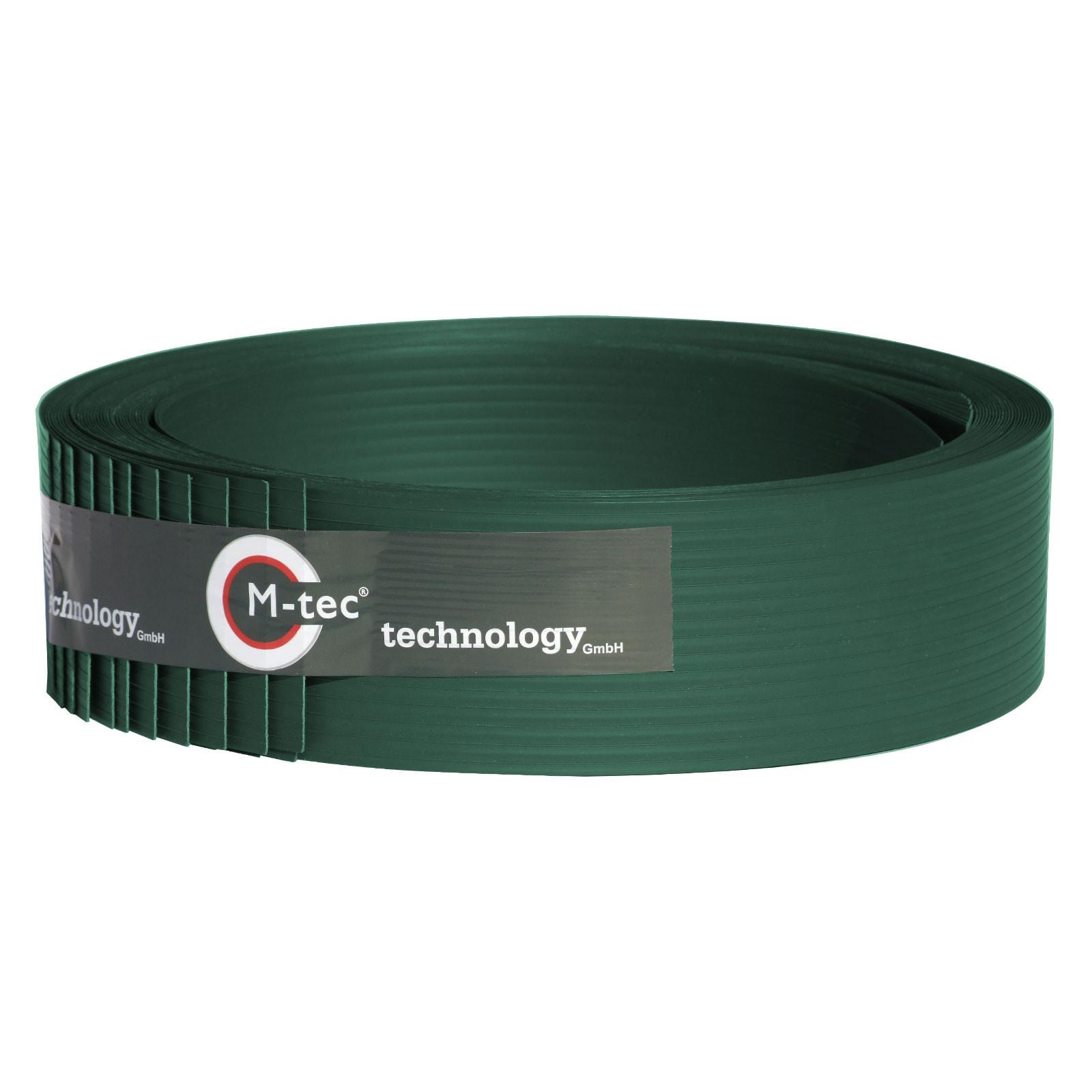 Hart - PVC Sichtschutzstreifen grün 9,5cm Höhe