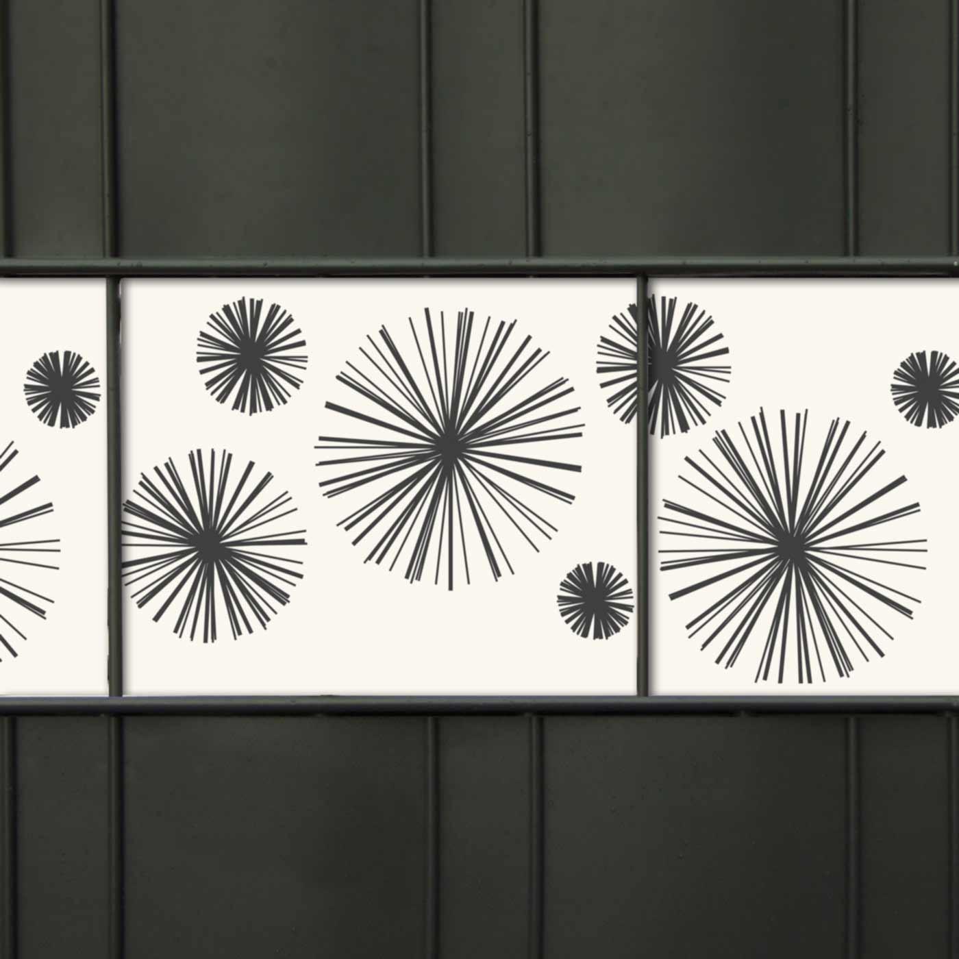 Design Zaunblende - M-tec Line Star