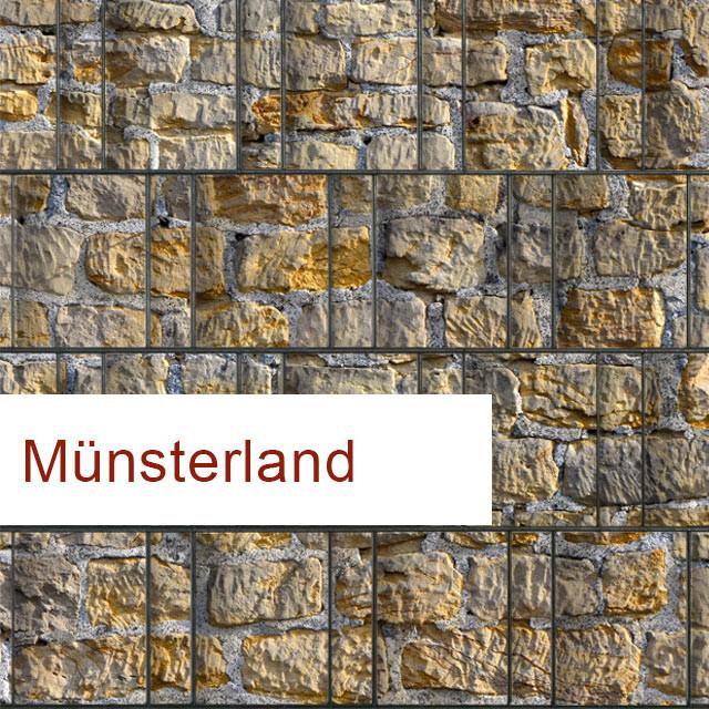 Sichtschutzstreifen Motiv Münsterland