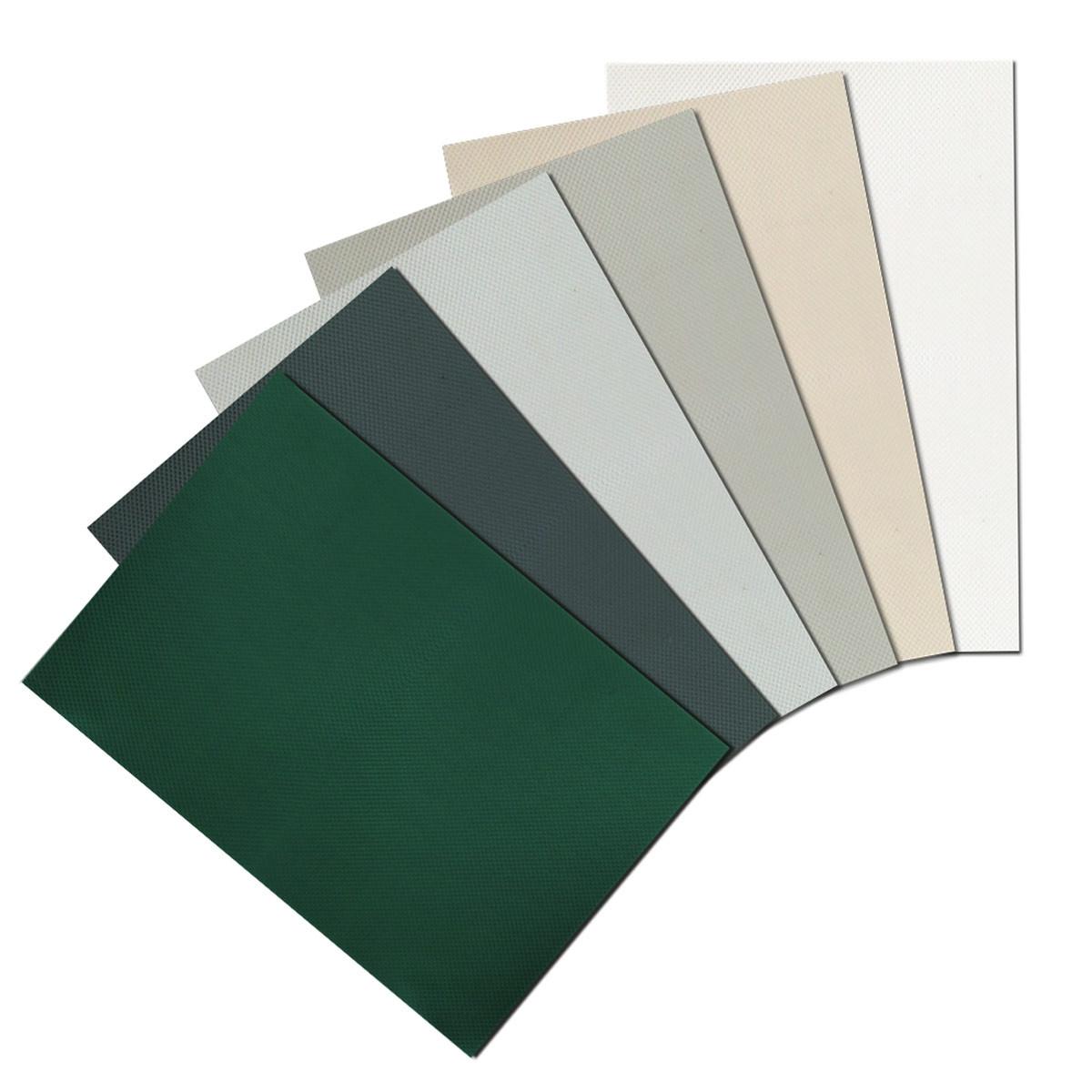 M-tec Profi-line® - Weich-PVC Musterzuschnitte Zaunstreifen