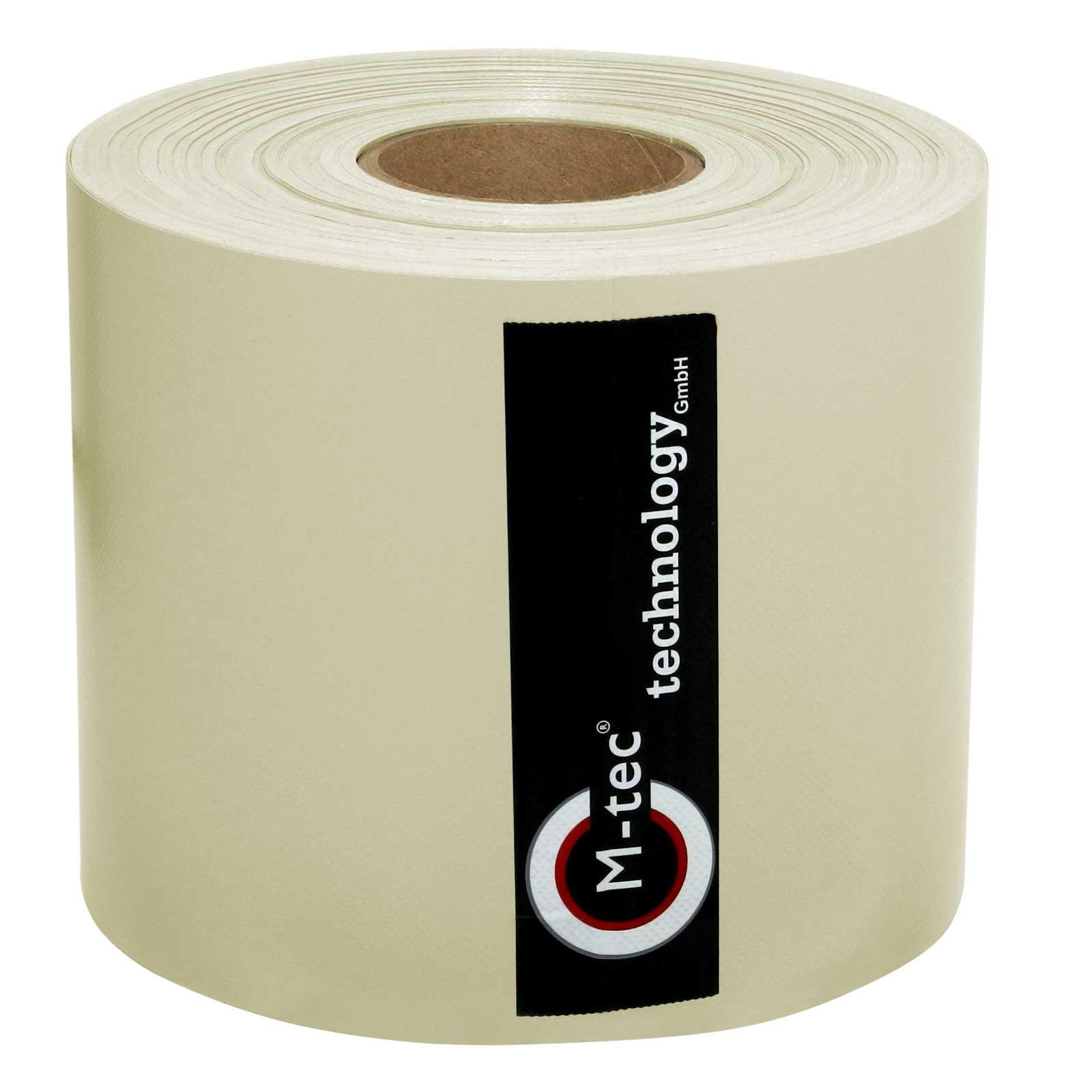 M-tec Profi-line ®  Zaunblenden Streifen creme beige