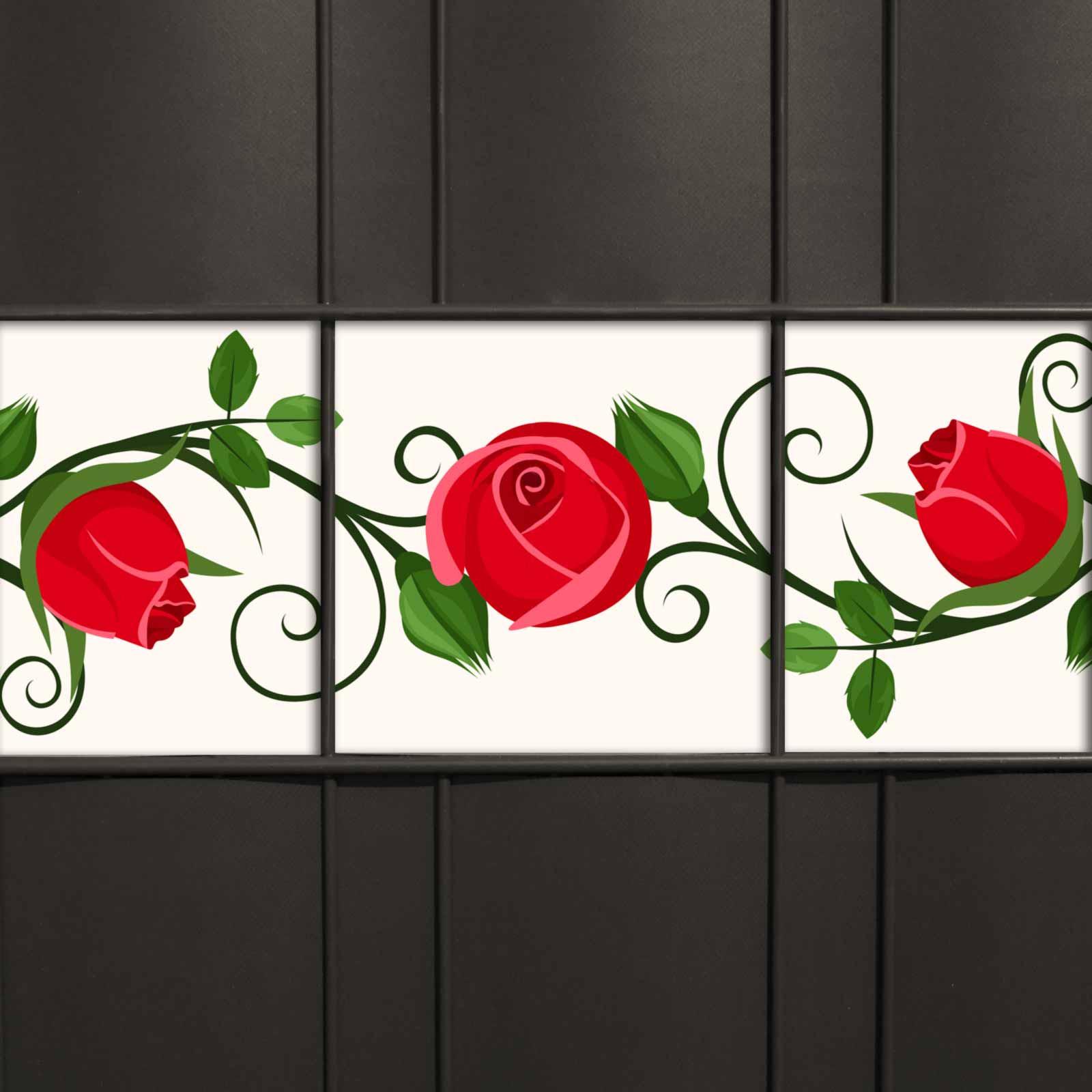 Weich PVC Sichtschutz mit rosa-farbenem Kirschblüten-Motiv