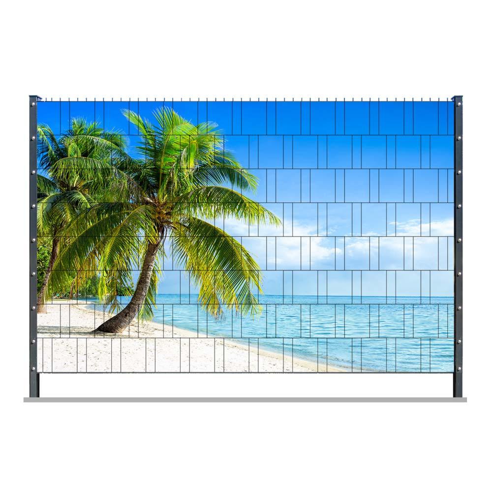 PVC Zaunposter mit Fertigmotiv