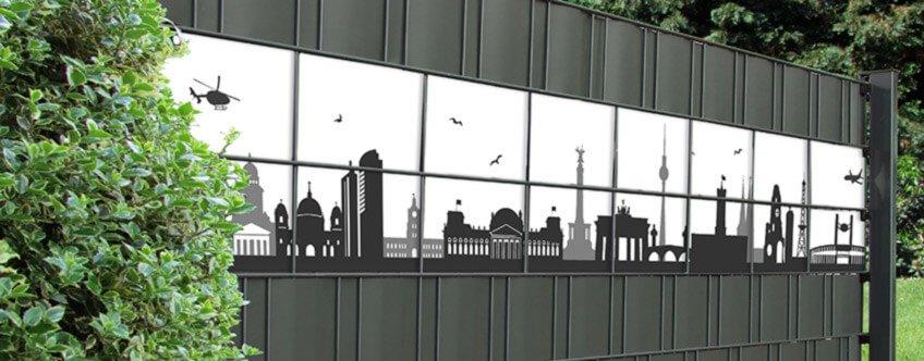 M-tec Kreativstreifen Motiv Skyline Berlin