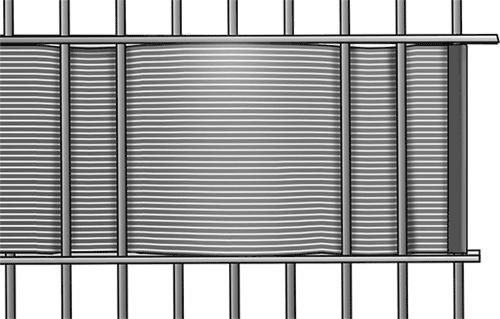 Befestigung Hart_PVC Streifen mit Befestigungsschiene